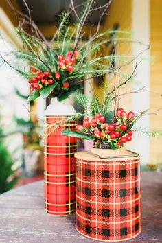 Let's say you're the one throwing the party. Your guests *will* be taking pictures of the food for Instagram, so a perfectly pretty table is a must. These are some of our favorite winter floral arrangements to help bring the outdoors IN this season. >> http://www.hgtv.com/design/make-and-celebrate/holidays/10-winter-floral-arrangements-for-any-occasion-pictures?soc=holidaypinparty