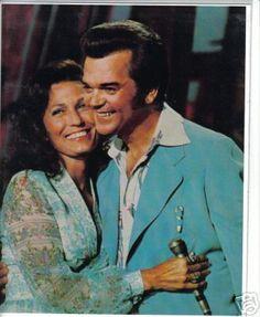 Loretta Lynn and Conway Twitty.