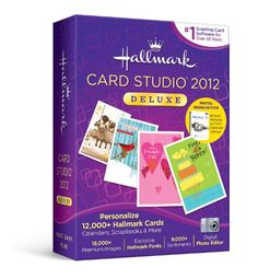 US Hallmark Card Studio 2012 Deluxe Digital Media Edition - http://www.rekomande.com/us-hallmark-card-studio-2012-deluxe-digital-media-edition/