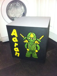Lego storage box I made for my son