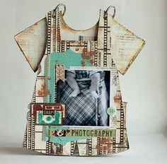 Baby Boy Mini Album **Scraps of Darkness** and Clear Scraps - Scrapbook.com