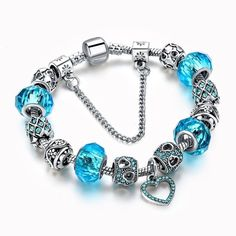 Fine Jewelry Dependable Sterling Silver Seahorse Charm Bracelet Sea Life Island Beach Plus Size Unisex Factory Direct Selling Price