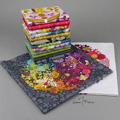 EX LIBRIS Half Yard Bundle by Alison Glass for by LlamaFabrics