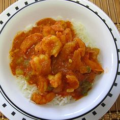 Cajun Shrimp Creole--4 stars--Added bay leaf & Tony Chacherie's seasoning (of course) and finished with lemon zest.