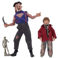From NECA. Goonies never say die! From the cult classic 1985 movie The Goonies, Chunk and Sloth join NECA's line of clothed action figures. Las Vegas, Los Goonies Sloth, Cheerleaders, Party Poker, Hip Hop, Dads, Pirate Hats, Life Lyrics, Catalog Online