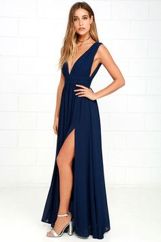 V Neck Prom Dresses Blue Bridesmaid Dresses Prom Dresses 2018 Prom Dresses Chiffon Navy Bridesmaid Dresses Bridesmaid Dresses 2018 Best Maxi Dresses, Navy Blue Bridesmaid Dresses, Short Beach Dresses, V Neck Prom Dresses, Prom Dresses 2018, Long Navy Dress, Navy Blue Formal Dress, Navy Blue Gown, Casual Dresses