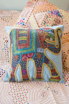 Rahini Cushion Cover Blue  Homewares by Treeoflife