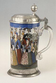 1728 German Tankard at the Metropolitan Museum of Art, New York