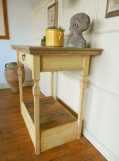 PaintedIsland - Kitchen Islands - Atmosphyre Decor, Furniture, Small Kitchen, Painted Kitchen Island, Table, Entryway Tables, Home Decor, Kitchen, Entryway