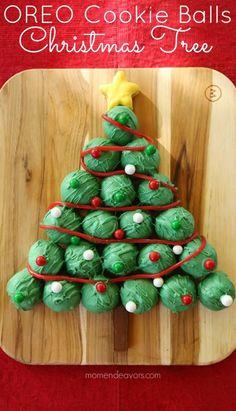 No-Bake Christmas Tree Cookies | Recipe | Christmas tree cookies ...