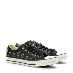 mytheresa.com - Chuck Taylor All Star Low studded leather sneakers - sneakers - shoes - Luxury Fashion for Women / Designer clothing, shoes, bags