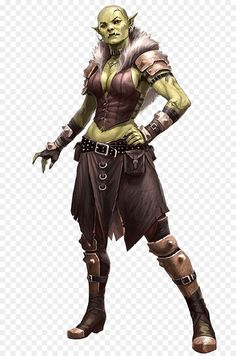 Shattered hand assassin by FirstKeeper female half-orc orc ...
