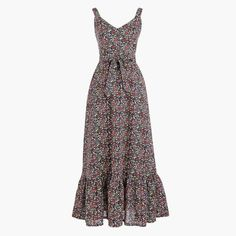 Shop J.Crew Factory for the Printed tiered maxi dress in linen-cotton for Women. Find the best selection of Women Dresses available in-stores and online. Italian Chic, Outfits 2014, J Crew Style, Embroidered Blouse, Floral Blouse, Summer Looks, Party Dress, Summer Dresses, Clothes For Women