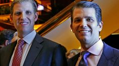 Trump sons dismiss Russia investigation 'witch hunt,' but will watch Comey testimony - ABC News