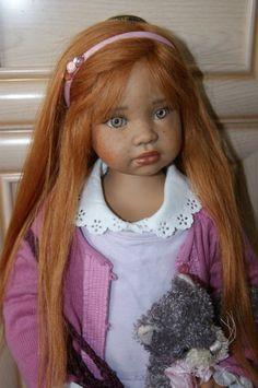 Великолепная рыжеволосая красавица Тициана - OOAK by Angela Sutter / Коллекционные куклы Angela Sutter / Бэйбики. Куклы фото. Одежда для кукол