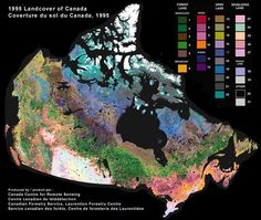 Canada is the second largest country in the world (spatially) by total area – 9,984,670 km². It ocupyies most of northern North America extending from the Atlantic Ocean in the east to the Pacific Ocean in the west and northward into the Arctic Ocean. Canada shares land borders with the United States to the south and northwest.