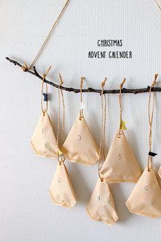 ★コーヒーフィルターで簡単♪アドベントカレンダー | インテリアと暮らしのヒント