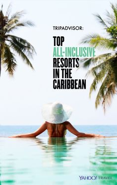 Some of these all-inclusive resorts in the Caribbean sure look beautiful and -- most importantly -- relaxing!