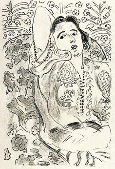 Henri Matisse - Arabesque, 1924