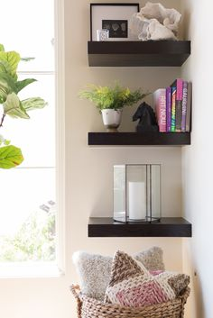 living room shelf styling #acupabove