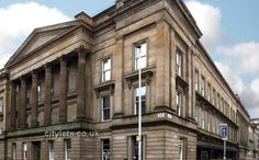 2 bed penthouse situated in former Glasgow's Sheriff court building with concierge