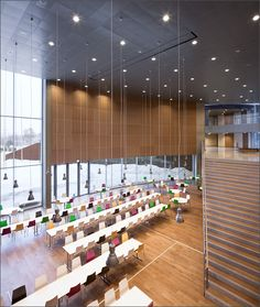 Kirkkojärvi school by Verstas Architects, praised by Monocle and others. :)