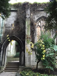 Church of St Dunstan in the East, London, England.