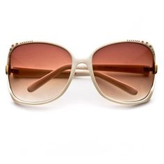 """""""Jackie"""" Sparkling Women's Sunglasses (more colors) - WOMENS ❤ liked on Polyvore"""