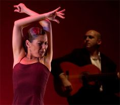 Sara Baras bailarina flamenca n.en 1971 en San Fernando (Cádiz) España
