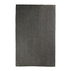 TOFTBO Bathroom mat IKEA Made of microfiber; ultra soft, absorbent and dries quickly. Prefect for our grey and yellow master suite