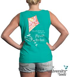 Why walk with the rest when you can fly with #Theta! Design on the University Tees EXCLUSIVE Comfort Colors Gulf Shores Collection! This color is only available until March 20th, so visit UniversityTees.com to start your Gulf Shores order today! #KappaAlphaTheta #KAO #Sorority