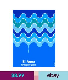 Posters & Prints 4569.El Agua.Water Moving.Water Drop.Movie.Poster.Decoration.Fine Graphic Art #ebay #Home & Garden