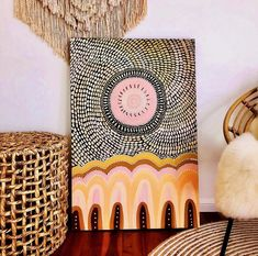 Canvas Size: Birthing Caves Original Artwork Comes framed in Raw Oak Timber Indigenous Australian Art, Indigenous Art, Painting Inspiration, Art Inspo, Kunst Der Aborigines, Diy Art, Canvas Art, Canvas Size, Diy Canvas