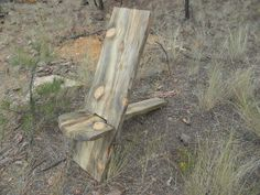 Bog chair Plank chair by MTbluepine on Etsy, $100.00