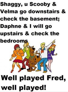 Well played Fred!! :)