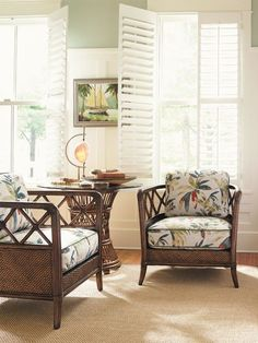 Modern-day Inside Style In Your Laundry Space Tommy Bahama Rattan Cane Furniture Set Tommy Bahama, Living Room Furniture, Living Room Decor, Bedroom Decor, Boho Home, Tropical Decor, Tropical Interior, Colorful Decor, Classic Furniture
