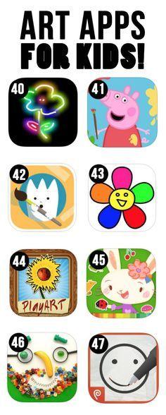Best Art Apps for Kids