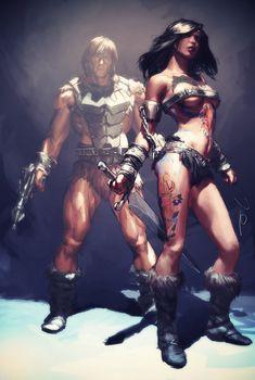Tattoo-Da and Wun-Dar by ~AldgerRelpa on deviantART