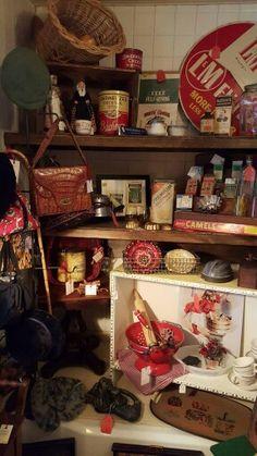 Shop shots. Deep Creek Vintage in Fredericksburg, Virginia
