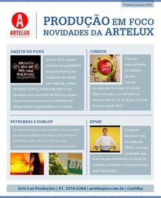Designed by Lais Pancote :: E-MAIL MKT :: ARTELUX #2 :: OLIK COMUNICAÇÃO :: dec/2013