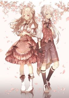 Pixiv Id 2825510 Mobile Wallpaper - Zerochan Anime Image Board Anime Siblings, Anime Sisters, Anime Child, Anime Couples Manga, Anime Girl Dress, Anime Art Girl, Anime Amor, Cute Anime Coupes, Anime Songs