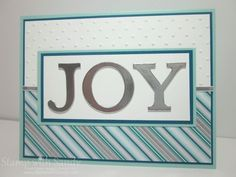 Modern Joy by stampwithsandy - Cards and Paper Crafts at Splitcoaststampers