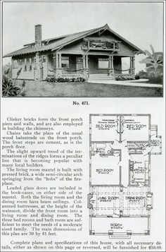 Design No  FROM  quot THE BUNGALOW BOOK quot  BY HENRY WILSON      Of     FROM  quot THE BUNGALOW BOOK quot  BY HENRY WILSON