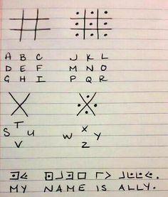 Secret code of American schoolers