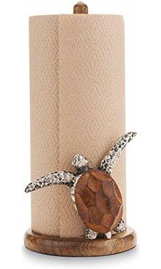 Mud Pie Turtle Paper Towel Holder