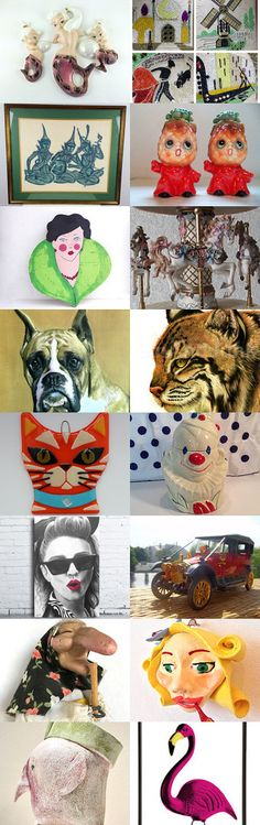 Kitschy Fun from TeamKitsch  by Betty J. Powell on Etsy--Pinned+with+TreasuryPin.com