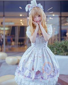 "5,605 Me gusta, 23 comentarios - H 猫 (@hmao_owo) en Instagram: ""#lolita_fashion #lolitafashion"""