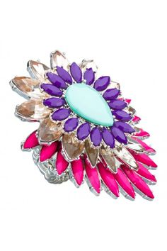 Stone Cluster Ring from @colette by colette hayman (AUD $9.95).