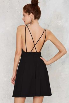 Cross Strap the Universe Mini Dress - Valentine's Day | Valentine's Day | Best Sellers | Going Out | Fit-n-Flare | LBD