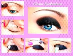 #eyeshadow #stencils #stickies #eyeliner #makeup #quick #image #eye #12 #5 Quick Eye Makeup Stencils  12 Stickies Eyeliner Eyeshadow image 5You can find Under eye makeup and more on our website.Quick Eye Makeup Stencils  12 Stickies E...